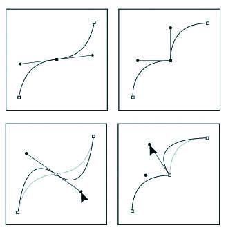 Получить выделение из созданного контура можно двумя способами